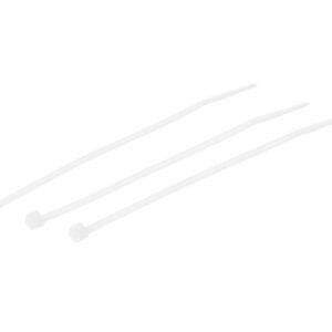 KABELBINDER TRANSPARENT 4.8mm breit x 190mm lang (100 Stk.)