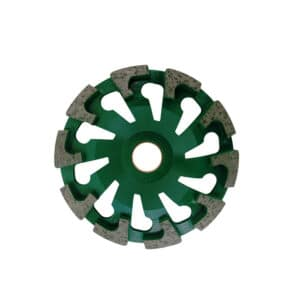 Diamantschleifteller T-Form Beton/Abrasiv