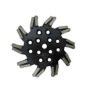 Diamant-Schleifteller Stern mit Blocksegment