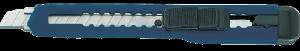 9mm Abbrechmesser Kunststoff, mit Metallführung