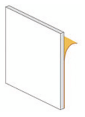 ANKERPLATTE SELBSTKLEBEND 85 x 85 mm