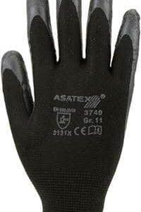 Latex-Handschuh – Farbe: schwarz