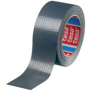 tesa®- Gewebeklebeband, Silber, 50mm x 50m